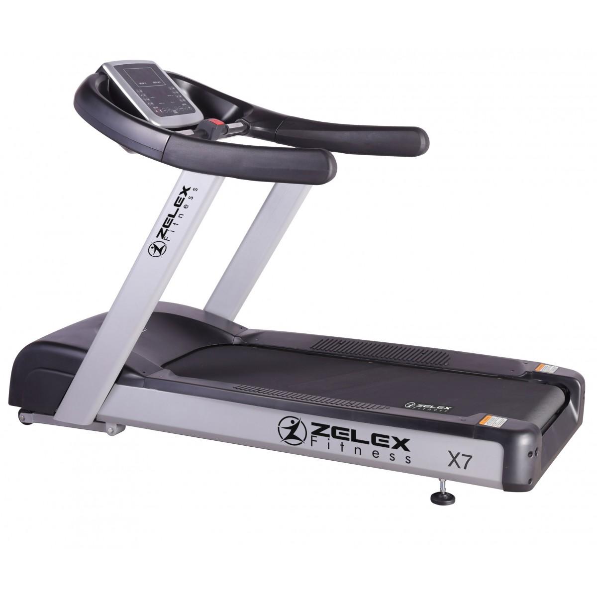 Worn Treadmill Deck: Zelex Fitness